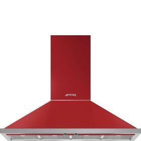 Cappa | Decorativa murale | Portofino | Rosso | 120 cm | A+