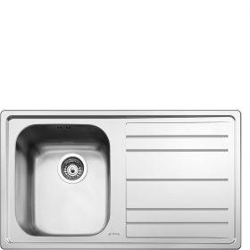 Lavello | Universale | Lavello saldato | Semifilo | Gocciolatoio: Destro | Numero vasche: 1 | Acciaio Inox