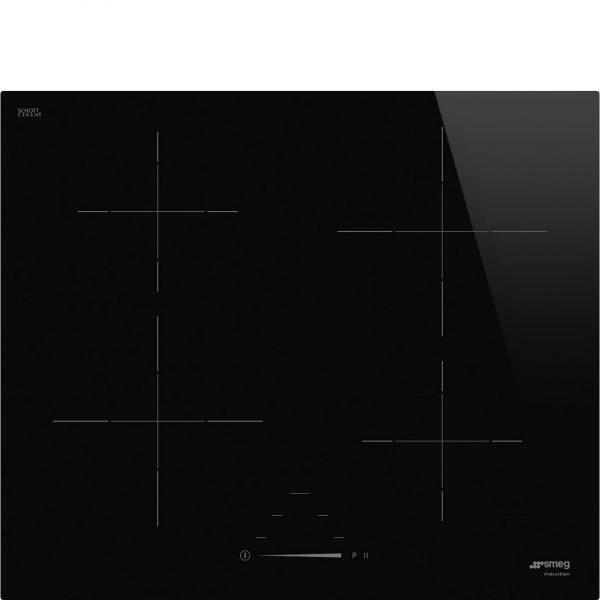 Piano cottura Universale in vetroceramica nero