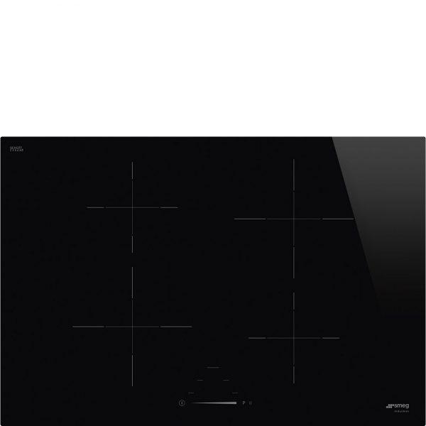 Piano Cottura in vetroceramica nero