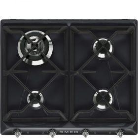 Piano di cottura | Estetica: Victoria | Gas | 60 cm | Nero | Incasso: Tradizionale