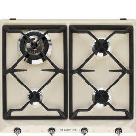 Piano di cottura | Estetica: Victoria | Gas | 60 cm | Panna | Incasso: Tradizionale